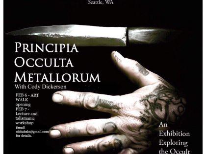 Principia Occulta Metallorum